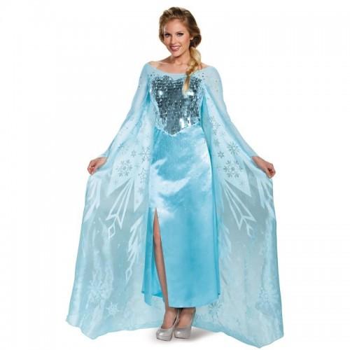 Fantasia Elsa Vestido Azul