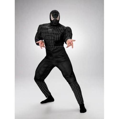Fantasia Homem Aranha Black