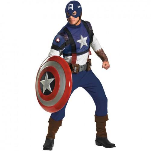 Fantasia Masculina Capitão América