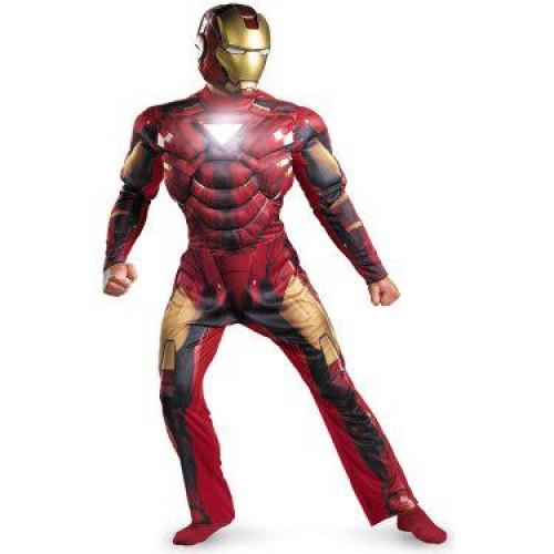 Fantasia Masculina Homem de Ferro