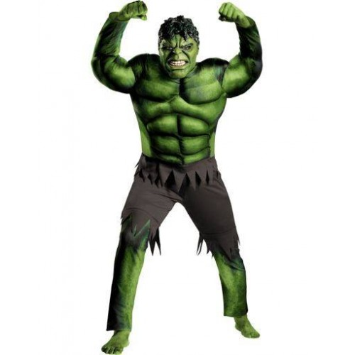 Fantasia Masculina Hulk