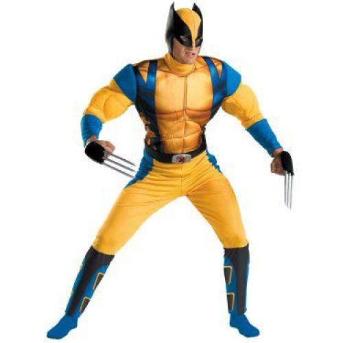 Fantasia Masculina Wolverine