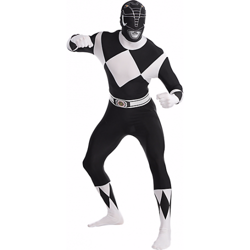Fantasia Power Ranger Preto