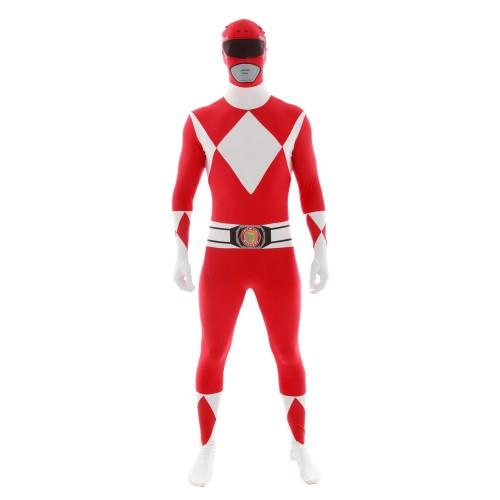 Fantasia Power Ranger Vermelho