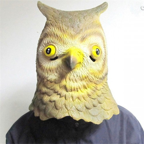 Máscara Coruja Latex