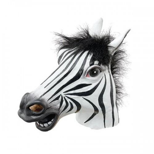 Máscara Zebra Látex