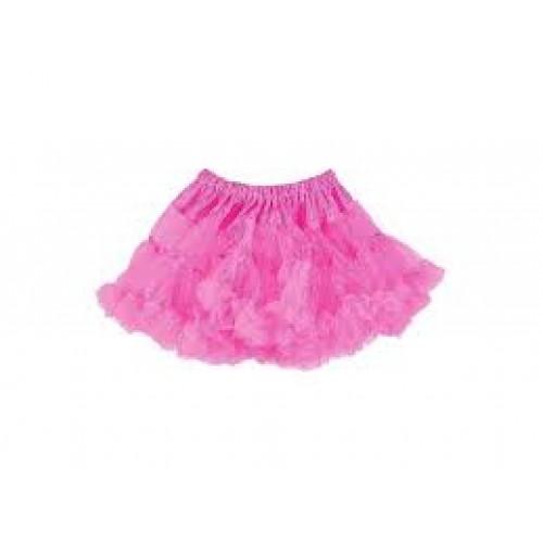 Anágua Luxo Infantil Rosa