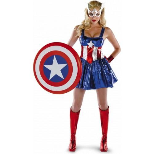 Capitã América com Escudo