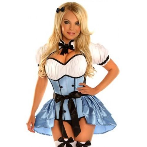 Corset Alice Azul