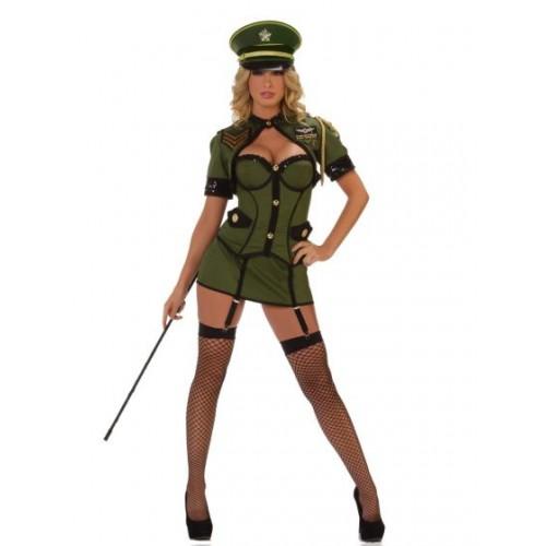 Corset Militar Verde