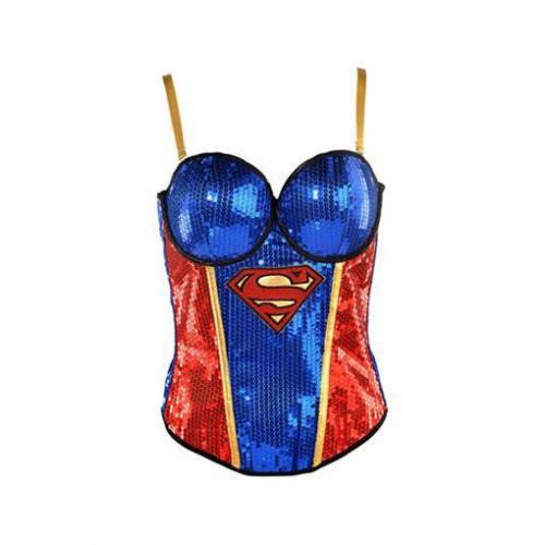 Corset Supergirl Azul