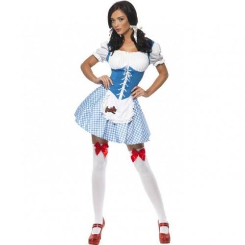 Dorothy Azul e Branco