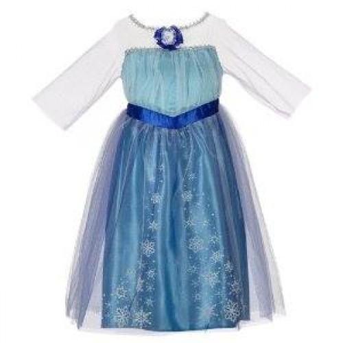 Elsa infantil Azul