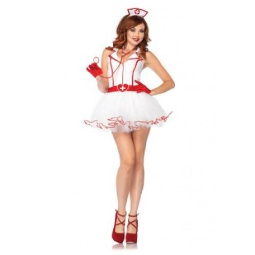 Fantasia Enfermeira Branca