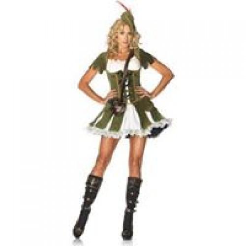 Fantasia Robin Hood Verde