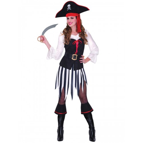 Pirata Vestido Listrado