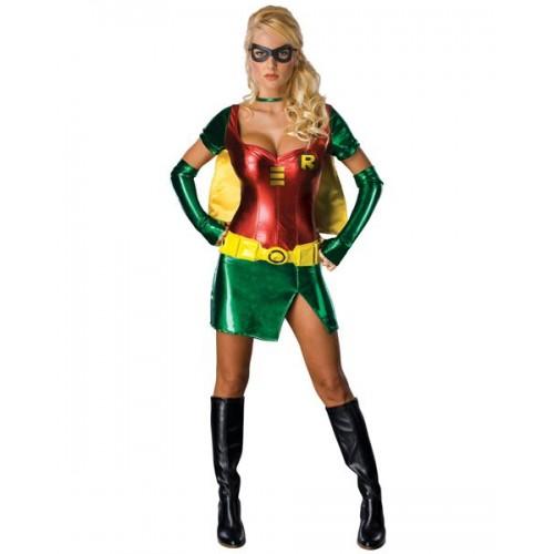 Robin Woman com Mascára