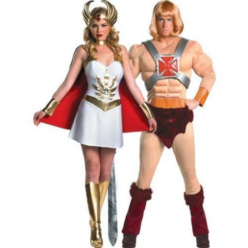She Ra e He-man