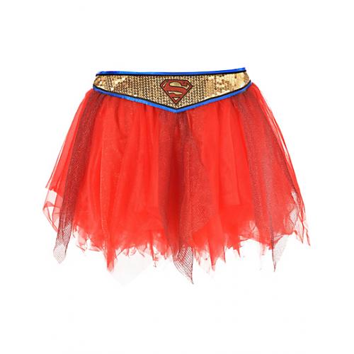 Supergirl Saia Cinto Dourado