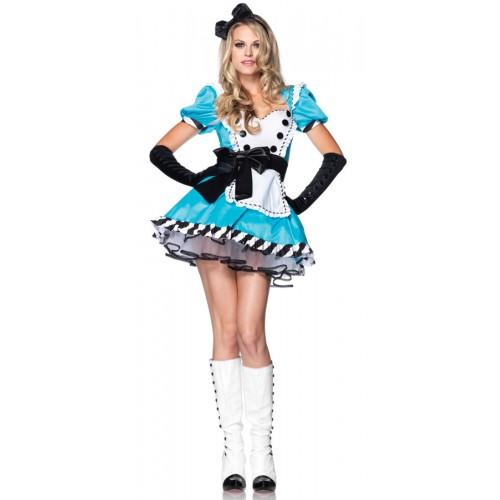 Vestido Alice com Laço Preto