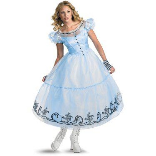 Vestido Alice nos País das Maravilhas