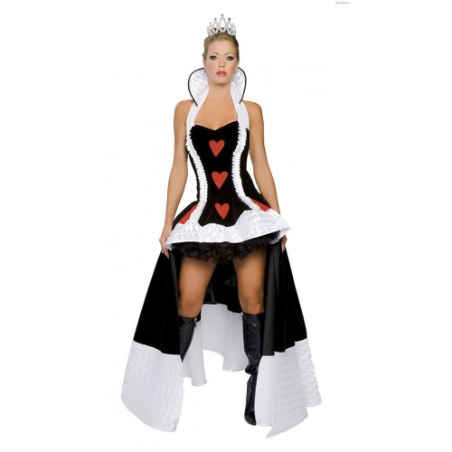 Vestido Dama de Copas Preto
