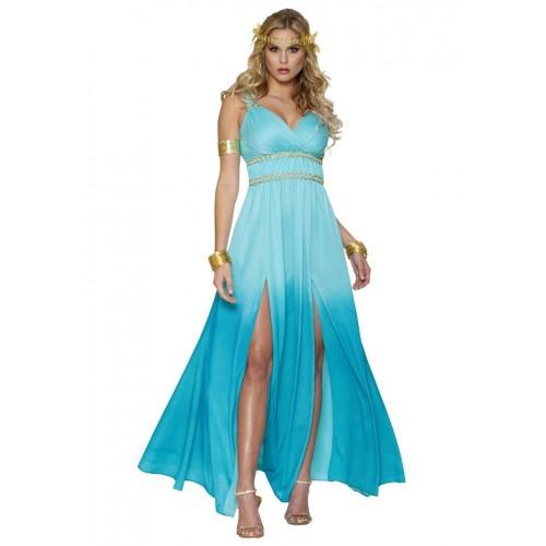 Vestido Romana Azul